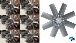 6 Blades Aluminum Impeller Dia 1250 MM