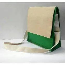 Jute Sling Bags, Size: 10 X 10 X 3 Inch