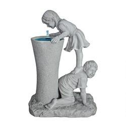 Fiberglass Garden Kids Fountain