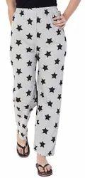 Printed Assorted Cotton Pyjama for Women