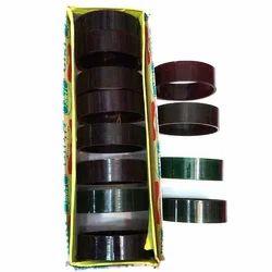Black Silk Thread Plastic Bangles, Packaging Type: Box