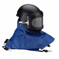 Abrasive Blasting Helmet