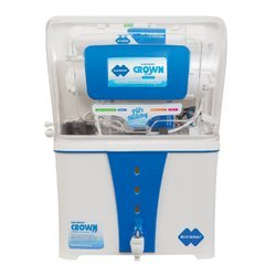 Automatic ABS Plastic Blue Mount Alkaline RO Crown Star
