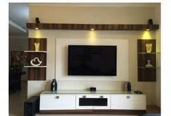 Wooden Wall TV Stand