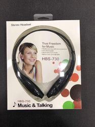 HSB - 730 Bluetooth Attractive Black Headphone
