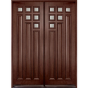 2D Teak Wood Door
