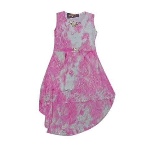 625c5f214918 Pink Printed Girls Kids High Low Frock, Rs 450 /piece, Sri Hari ...