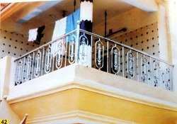 Silver 304 Stainless Steel Railing