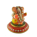 Marble Ganesh with Round Base