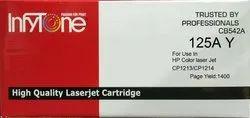 125A Y (CB542A) Compatible Color Toner Cartridge For HP Printers