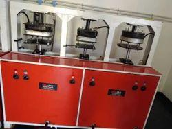3 Dies Areca Leaf Plate Machine