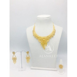 Short Gold Plated Set