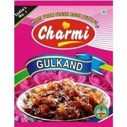 Charmi Rose Gulkand Pan Gulkand Mouth Freshener Mukhwas, Packaging Type: Pouch & Tin