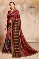 Fancy Jacguard Printed Saree