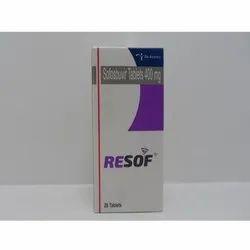 Resof Sofosbuvir Tablets 400 Mg