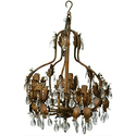 Traditional Iron Antique Stylish Hanging Chandelier