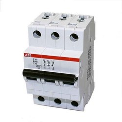 40 A No.of poles: 3 Pole ABB Miniature Circuit Breaker