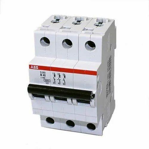 ABB Miniture Circuit Breaker MCB 63A Triple Pole C-TYPE 10ka