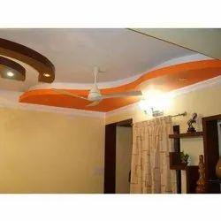 Plaster of Paris Ceiling Grid Ceiling Works