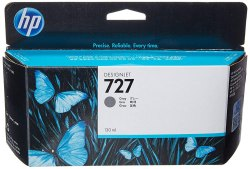 HP Ink Cartridge Grey 130ml 727