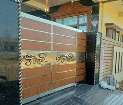 Modern Stainless Steel Gate, For Home