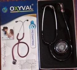 Double Sided Pediatric Stethoscope, Machined Stainless Steel, Tunable