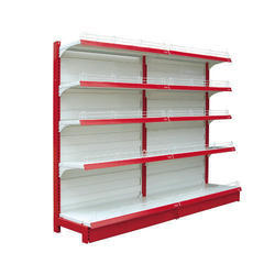 Modular Single Sided Supermarket Rack