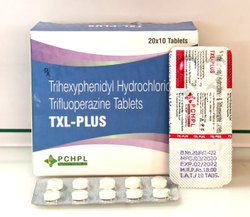 Trihexyphenidyl HCL Trifluoperazine Tablets