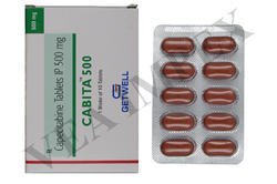 Cabita 500 mg (Capecitabine Tablets IP)