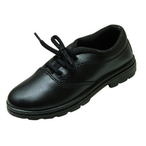 Black Boys School Shoes, Size: All