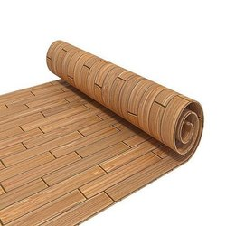 Brown Laminated Plastic Flooring, Thickness: 0.5-1 Mm