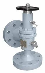 SYSCHEM Up to 75K Choke Valves, For Steam. Crude Oil & Gas, Valve Size: Up To 12 Inch