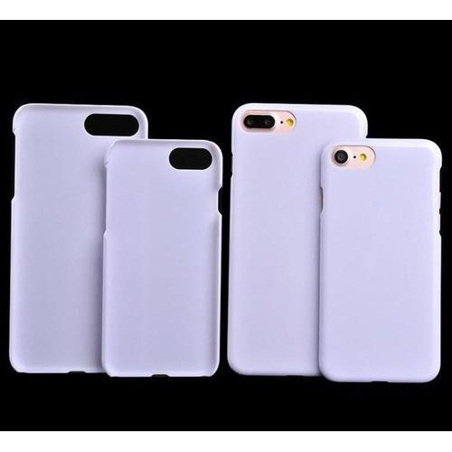White Plastic Sublimation Mobile Cover, Packaging Type: Packet