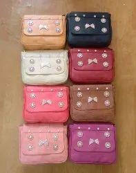 PU Leather Girls Bag