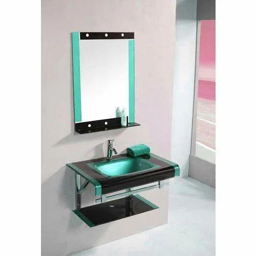 Modern Glass Bathroom Vanity Dimension Size 2 2 Rs 5100 Piece