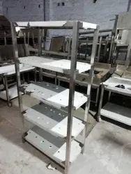 SS Cold Room Storage Rack