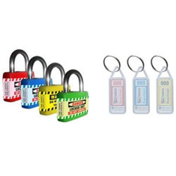 Sleek Isolation Padlock With Keyring SH-ISP-KR