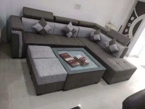 L Shape Sofa Set At Rs 6200 Sheet, L Shape Sofa Set