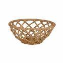 Round Wicker Bowl Basket
