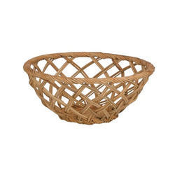 Round Wicker Bowl Basket