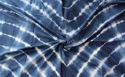 DVK Handicraft Cotton Tie Dye Shibori Print Fabric