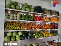 SS Veg Racks & Fruit Racks
