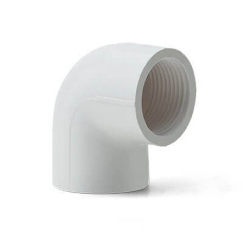 Polyvin UPVC Threaded Elbow, for Water Pipe, Size: >3inch