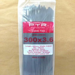PTR Nylon Cable Tie 300 X 3.6 mm