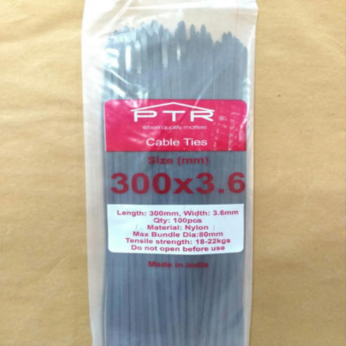 c666847ef303 Binding Ties - PTR Nylon Cable Tie 300 X 3.6 mm Manufacturer from ...
