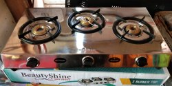 Sunflame 3 Burner Gas Stove, for Kitchen