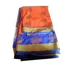 Ladies Polyester Silk Saree