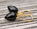 Black Onyx Drop Earring