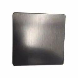 Stainless Steel Antifingure Black Hairline Finish Sheet