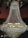 Led Cylindrical Crystal Jhoomar, For Decoration
